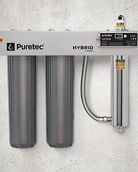Puretec Hybrid R4 UV Water Treatment System