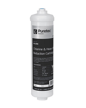 "PURETEC IN149C REPLACEMENT INLINE FRIDGE FILTER CARTRIDGE, 10 ¼"", 1 MICRON"