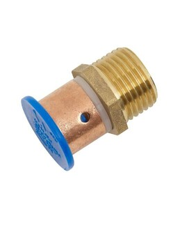 DUX SECURA STRAIGHT MALE ADAPTOR