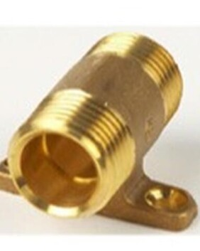 BRASS LUG NIPPLE 15MM