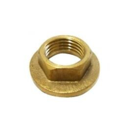 BRASS NARROW FLANGED BACKNUT