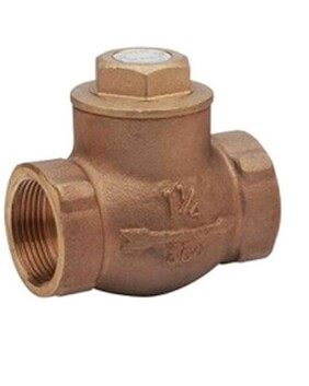 KITZS BRONZE SWING CHECK VALVE