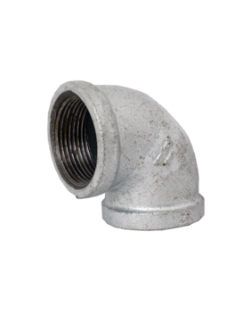 GALVANISED FEMALE 90° ELBOW