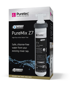 PUREMIX Z7 HIGH FLOW IN-LINE WATER FILTER SYSTEM