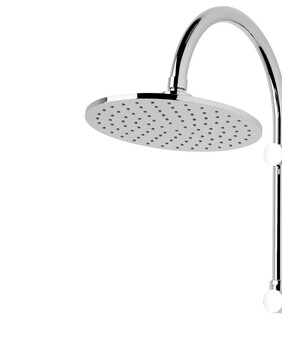 FORENO High Rise Brass Shower Rose