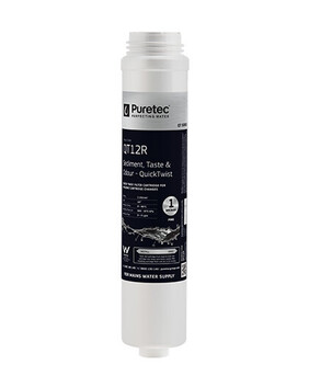 PURETEC QT12R QUICK-TWIST UNDERSINK FILTER REPLACEMENT CARTRIDGE