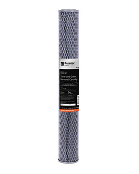 "ML SERIES MULTI PURPOSE CARBON FILTER CARTRIDGE, STANDARD 2.5"" X 20"" ML102-DP"