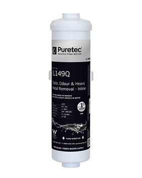 PURETEC IL149Q INLINE EXTERNAL FRIDGE FILTER CARTRIDGE