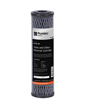 "ML SERIES MULTI PURPOSE CARBON FILTER CARTRIDGE, STANDARD 2.5"" X 10"" ML101-DP"
