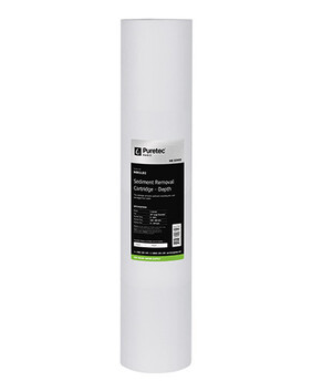 MB SERIES LARGE DIAMETER JUMBO 20'' LONG MELT BLOWN SEDIMENT FILTER CARTRIDGE