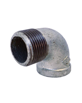 GALVANISED MALE / FEMALE 90° ELBOW