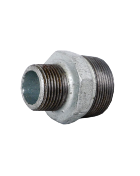 GALVANISED REDUCING HEX NIPPLE
