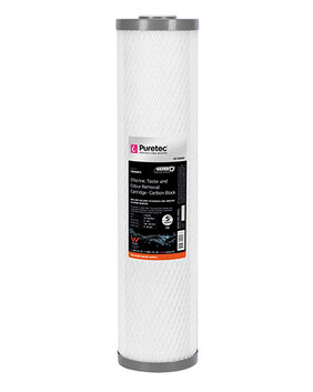 CB SERIES MAXIPLUS JUMBO 20'' LONG CARBON BLOCK FILTER CARTRIDGE