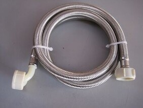 WASHING MACHINE & DISHWASHER INLET HOSE WITH ELBOW